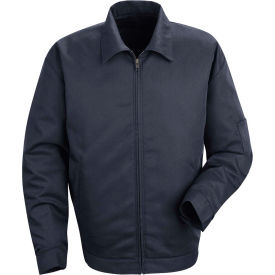 Red Kap® Slash Pocket Jacket Long-L Navy JT22