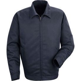 Red Kap® Slash Pocket Jacket Long-M Navy JT22