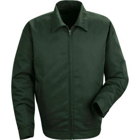 Red Kap® Slash Pocket Jacket Long-2XL Spruce Green JT22