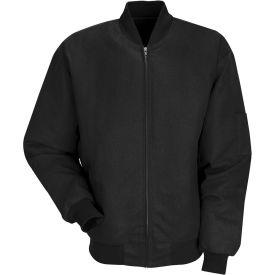 Red Kap® Solid Team Jacket Long-2XL Black JT38