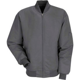 Red Kap® Solid Team Jacket Long-XL Charcoal JT38