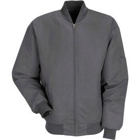 Red Kap® Solid Team Jacket Long-2XL Charcoal JT38