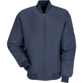 Red Kap® Solid Team Jacket Extra Long-3XL Navy JT38