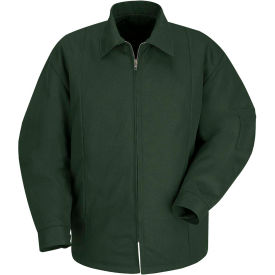 Red Kap® Perma-Lined Panel Jacket Long-3XL Spruce Green JT50