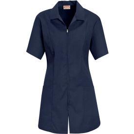 Red Kap® Women's Zip-front Smock Navy 2XL - KP43