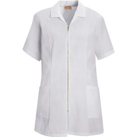 Red Kap® Women's Zip-front Smock White M - KP43