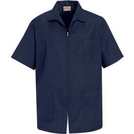 Red Kap® Men's Zip-front Smock Navy XL - KP44