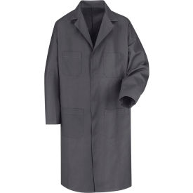 Red Kap® Men's Shop Coat Long Sleeve Regular-42 Charcoal KT30
