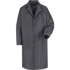 Red Kap® Men's Shop Coat Long Sleeve Regular-42 Charcoal KT30