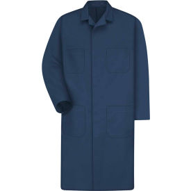 Red Kap® Men's Shop Coat Long Sleeve Regular-38 Navy KT30