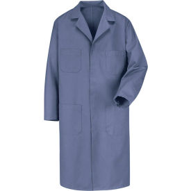 Red Kap® Men's Shop Coat Long Sleeve Regular-44 Postman Blue KT30