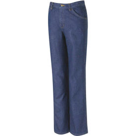 Red Kap® Men's Classic Work Jean Prewashed Indigo 42X37U - PD54