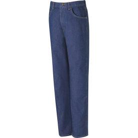 Red Kap® Men's Relaxed Fit Denim Jean 38x32 Indigo PD60