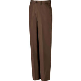 Red Kap® Red-E-Prest® Work Uniform Pant Brown 34x34 PT10