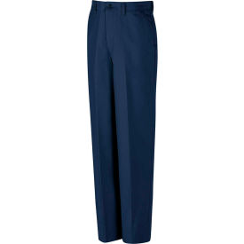 Red Kap® Red-E-Prest® Work Uniform Pant Navy 44x36 PT10