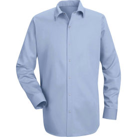 Red Kap® Men's Specialized Cotton Work Shirt Long Sleeve Regular-3XL Light Blue SC16-SC16LBRG3X