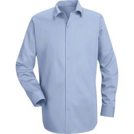 Red Kap® Men's Specialized Cotton Work Shirt Long Sleeve Regular-M Light Blue SC16-SC16LBRGM