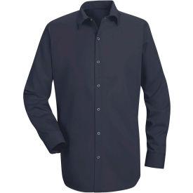 Red Kap® Men's Specialized Cotton Work Shirt Long Sleeve Regular-3XL Navy SC16-SC16NVRG3XL