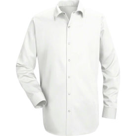 Red Kap® Men's Specialized Cotton Work Shirt Long Sleeve Long-L White SC16-SC16WHLNL