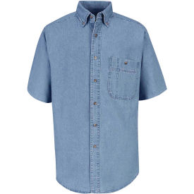 Red Kap® Men's Wrangler Denim Shirt L SD20-SD20MSSSL