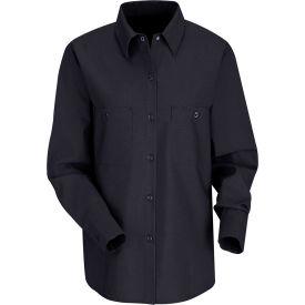 Red Kap® Women's Industrial Work Shirt Long Sleeve Navy Regular-XL SP13
