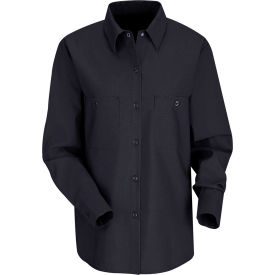 Red Kap® Men's Industrial Work Shirt Long Sleeve Navy Regular-2XL SP13