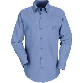 Red Kap® Men's Industrial Work Shirt Long Sleeve Petrol Blue Regular-2XL SP14