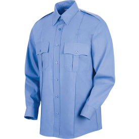 Horace Small™ Sentinel® Unisex Upgraded Security Long Sleeve Shirt Med Blue 4XL367 - SP36