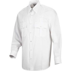 Horace Small™ Sentinel® Unisex Upgraded Security Long Sleeve Shirt White M323 - SP36