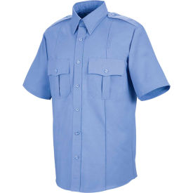 Horace Small™ Sentinel® Unisex Upgraded Security Short Sleeve Shirt Med Blue SSXXL - SP46