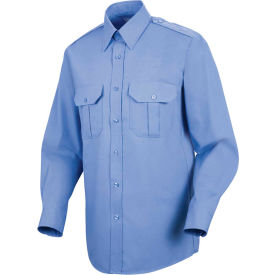 Horace Small™ Sentinel® Unisex Basic Security Long Sleeve Shirt Medium Blue L345 - SP56