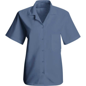 Red Kap® Women's Uniform Blouse Petrol Blue 2XL - SP65
