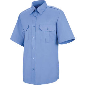 Horace Small™ Sentinel® Unisex Basic Security Short Sleeve Shirt Medium Blue SSLL - SP66
