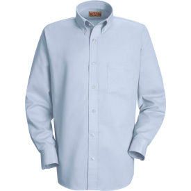 Red Kap® Men's Long Sleeve Easy Care Dress Shirt Light Blue 3XL345 - SS36