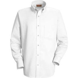 Red Kap® Men's Long Sleeve Easy Care Dress Shirt White M345 - SS36
