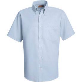 Red Kap® Men's Short Sleeve Easy Care Dress Shirt Light Blue M - SS46