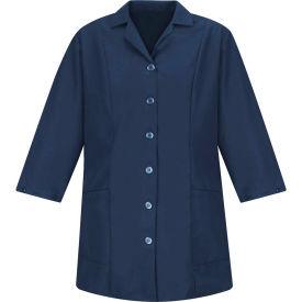 Red Kap® Women's Smock Fitted Adjustable 3/4 Sleeve Navy Regular-3XL - TP11