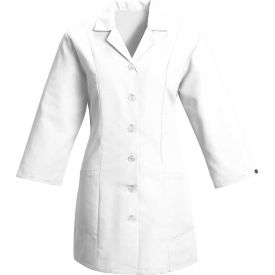 Red Kap® Women's Smock Fitted Adjustable 3/4 Sleeve White Regular-2XL - TP11
