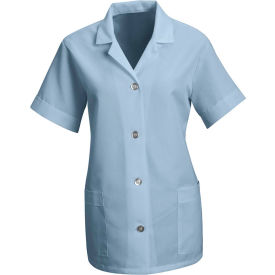 Red Kap® Women's Smock Loose Fit Short Sleeve Light Blue XL - TP23