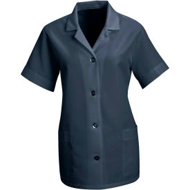 Red Kap® Women's Smock Loose Fit Short Sleeve Navy L - TP23