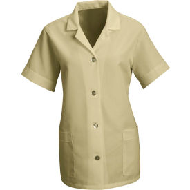 Red Kap® Women's Smock Loose Fit Short Sleeve Tan S - TP23