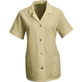Red Kap® Women's Smock Loose Fit Short Sleeve Tan XL - TP23