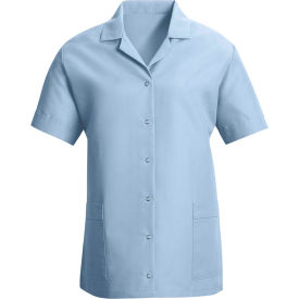 Red Kap® Women's Smock Loose Fit Short Sleeve Light Blue 2XL - TP27