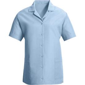 Red Kap® Women's Smock Loose Fit Short Sleeve Light Blue 2XL - TP27