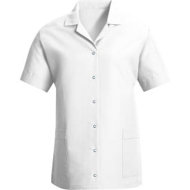 Red Kap® Women's Smock Loose Fit Short Sleeve White S - TP27