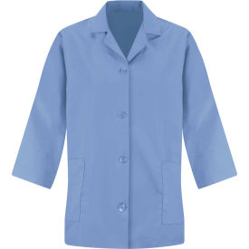 Red Kap® Women's Smock 3/4 Sleeve Light Blue Regular-XL - TP31