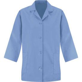 Red Kap® Women's Smock 3/4 Sleeve Light Blue Regular-2XL - TP31