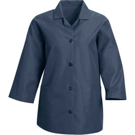 Red Kap® Women's Smock 3/4 Sleeve Navy Regular-3XL - TP31