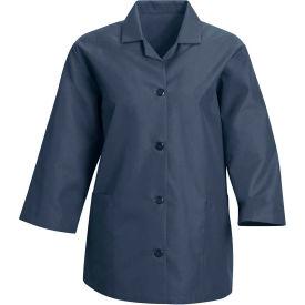 Red Kap® Women's Smock 3/4 Sleeve Navy Regular-XL - TP31