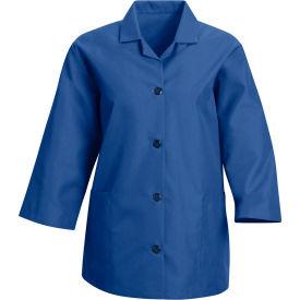 Red Kap® Women's Smock 3/4 Sleeve Royal Blue Regular-L - TP31